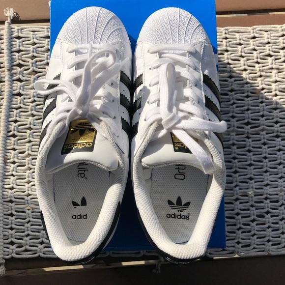 Adidas Superstar OrthoLite Original Shoe Size 5